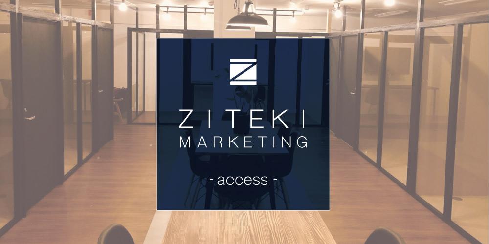ジテキマーケティング アクセス画像