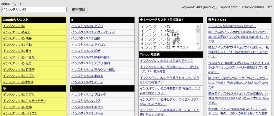ブログをアクセスアップさせる記事の書き方関連キーワードの探し方マニュアル画像